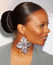 bun hairstyle black women updo hairstyles for black hair women