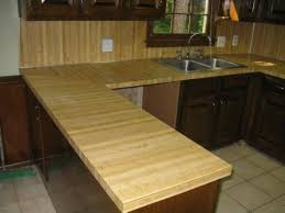 Rustic Kitchen Countertops - inexpensive versatile wood kitchen countertops designs ideas and