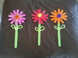 28 simple flower crafts cute craft stick flower craft easy