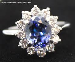 benitoite engagement ring specializing in benitoite one of the rarest stones on earth and