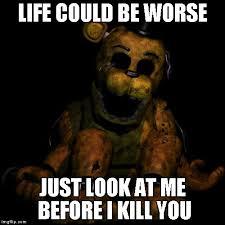 Meme Freddy - golden freddy meme generator imgflip