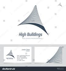 Real Estate Agent Business Card Template real estate business sign business card stock vector 267095204