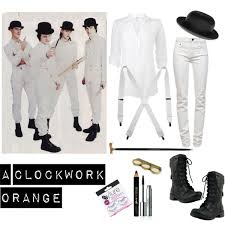 Clockwork Orange Halloween Costume Clockwork Orange Polyvore