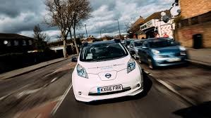 nissan australia general manager autonomy in the uk riding in nissan u0027s driverless leaf in east