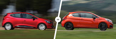 peugeot car lease france renault clio vs peugeot 208 french face off carwow