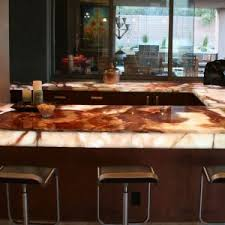 Countertops For Kitchen Furniture Granite And Onyx Countertops For Kitchen Decorating