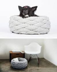Modern Dog Furniture by These Woven Pet Beds Give Your Fur Friends A Secure Place To Sleep