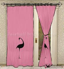 Cotton Tie Top Curtains by Tie Top Pink Door Home Furnishing Curtain Panels Semi Transperant