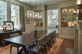 Craftsman Sconces Craftsman Dining Room With Crown Molding By Houlihan Lawrence