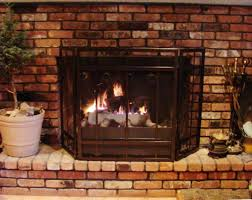 wood burning fireplace with blower binhminh decoration