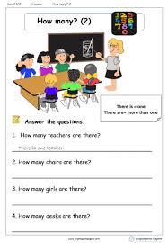 how many 2 worksheet u2013 english treasure trove
