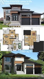 modern home designs plans modern house plans with amusing modern house plan plan 496 18