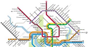 washington subway map will the maryland purple line appear on the washington dc