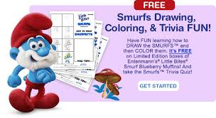 bites smurfs fun