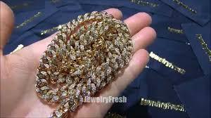 10mm diamond jewelry fresh 10mm gold miami cuban chain bust lab diamonds
