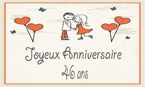 40 ans de mariage humour carte anniversaire mariage 46 ans coeur papillon