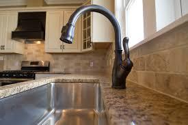 venetian bronze kitchen faucet delta leland kitchen traditional with rubbed bronze kitchen