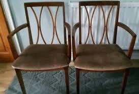 G Plan Dining Chair G Plan Fresco Carver Dining Chairs X2 Ebay
