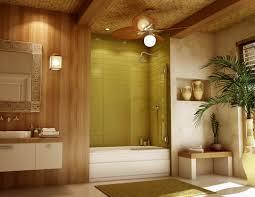 modern bathroom with solvay glass alumax sliding shower doors and