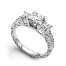rings art deco diamond rings vintage diamond engagement ring