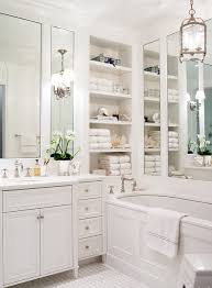 Built In Shelves In Bathroom Absolutely Gorgeous Traditional Bathroom Built In Shelves