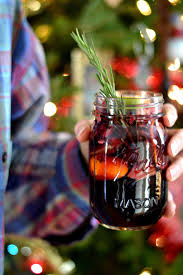 winter sangria apples pomegranate clementines cranberries and