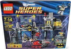 2012 lego dc universe batman 6860 the batcave misb new sealed