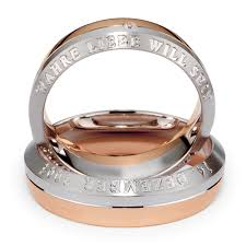 s gold wedding bands s inscribed platinum gold and band 269