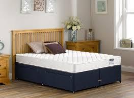Spring Bed by Dalton Open Spring Blue Divan Dreams