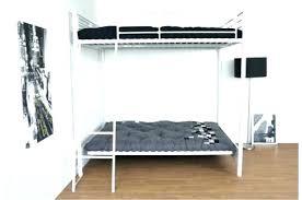 lit mezzanine 2 places avec canapé lit mezzanine avec banquette clic clac lit mezzanine avec banquette