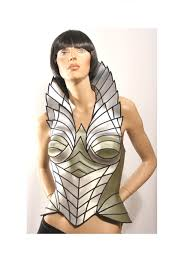 popular items for futuristic corset on etsy costumes pinterest