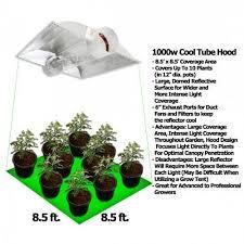 1000 watt hps light yield lab 1000 watt cool tube hood hps and mh grow light kit grow