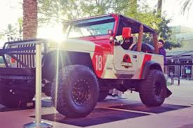 jurassic park car movie ebay find jurassic park themed jeep wrangler yj