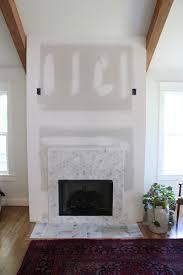 diy faux fireplace surround thewhitebuffalostylingco com
