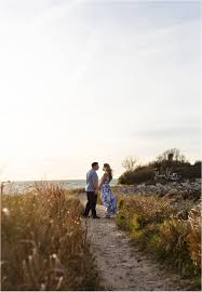 cape cod sunset engagement travis jenny cape wedding