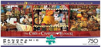 the cats of charles wysocki jigsaw puzzle puzzlewarehouse