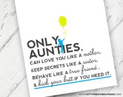 items similar to aunt birthday card auntie birthday card