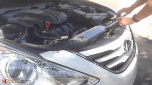2011 hyundai sonata headlights how to install uninstall a headlight in a hyundai sonata