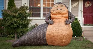 wars jabba the hutt lawn ornament bored panda