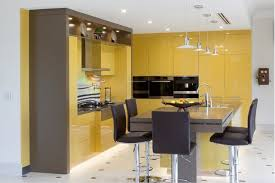 meuble cuisine jaune 2017 ventes chaudes 2pac armoires de cuisine jaune couleur moderne