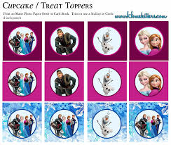 free printable halloween cupcake toppers frozen free printable toppers is it for parties is it free