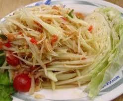 recette cuisine thailandaise traditionnelle salade de papaye verte traditionnelle thailandaise recette de