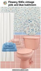 retro pink bathroom ideas 99 ideas to decorate a pink bathroom complete slide retro