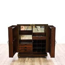 Asian Bar Cabinet Asian Bar Cabinet W Brass Details Mirror Furniture In San