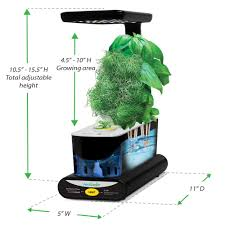 Miracle Grow Patio by Miracle Gro Aerogarden Sprout Led With Gourmet Herb Seed Pod Kit