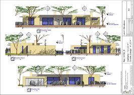 plan de maison de plain pied avec 4 chambres plan maison moderne 4 chambres stunning plan maison m chambres