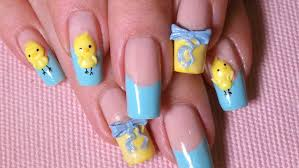 Easter Nail Designs 3d Nail Artnailnailsart Simple Nail Designs At Home The V Nail