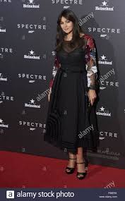 madrid spain 28th oct 2015 actress monica bellucci attended