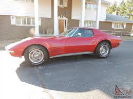 1972 corvette stingray 454 for sale corvette stingray coupe ls5 m21 4 speed code w