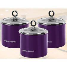 purple kitchen canister sets okay another purple canister set that i bought these